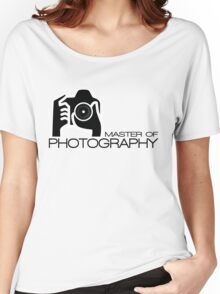 Photographer Camera T-Shirt Women's Relaxed Fit T-Shirt