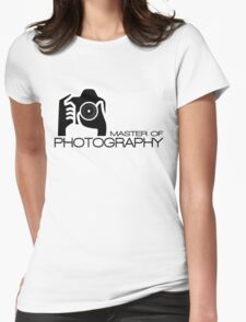 Photographer Camera T-Shirt Womens Fitted T-Shirt