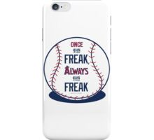 "Tim Lincecum ""The Freak"" Angels shirt iPhone Case/Skin"