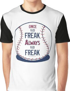 "Tim Lincecum ""The Freak"" Angels shirt Graphic T-Shirt"