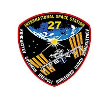 International Space Stataion (ISS) Mission 27 Photographic Print