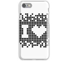 I love Pixels Graphic Designer's T-Shirt iPhone Case/Skin