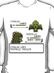 Wild CTHULHU uses Tentacle Tackle!  T-Shirt