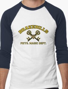 Yellow Physical Magic Dept. Men's Baseball ¾ T-Shirt