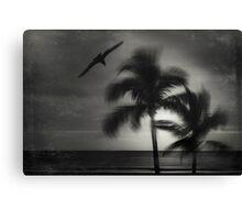 wild palms Canvas Print