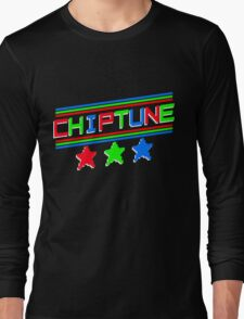 Chiptune Stars Long Sleeve T-Shirt