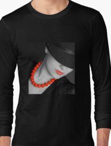 Lips & Beads Long Sleeve T-Shirt