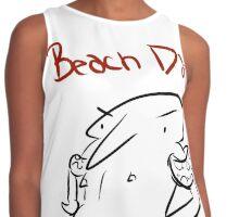 Beach Day Contrast Tank