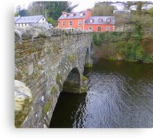 The Bridge Over The River Lennon...................Ireland Canvas Print