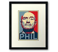 phil Framed Print