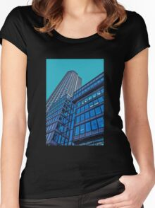 Urban growth Women's Fitted Scoop T-Shirt