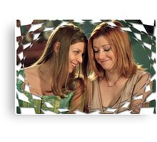 Buffy Tara Willow Once More With Feeling 2 Canvas Print