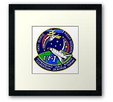 ISS Mission UF-1 Framed Print