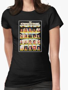 WWF SUPERSTARS Womens Fitted T-Shirt