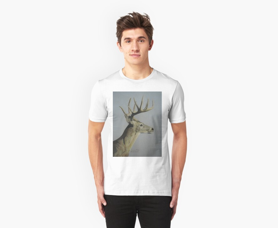 Portrait of a Deer by VivianRay