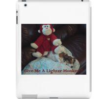 Lighter Monkey iPad Case/Skin
