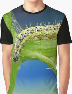 Cabbage White Caterpillar Graphic T-Shirt