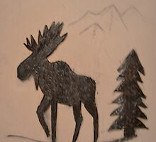 Moose by Brian Blaine