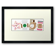 Starfish Joe Maple & Jammie Framed Print