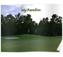 Golf Paradise Poster