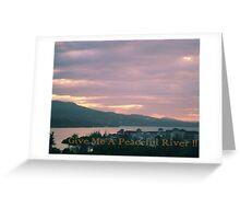 River Paradise Greeting Card