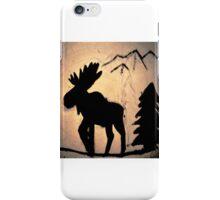 Moose Shadow iPhone Case/Skin