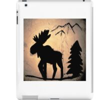 Moose Shadow iPad Case/Skin