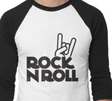 rock n roll Men's Baseball ¾ T-Shirt