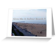 Softer Beach Greeting Card