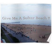 Softer Beach Poster