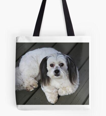 Olive the good dog Tote Bag