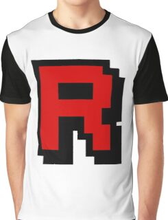 Team Pixellated R Graphic T-Shirt