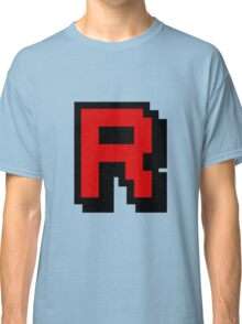 Team Pixellated R Classic T-Shirt