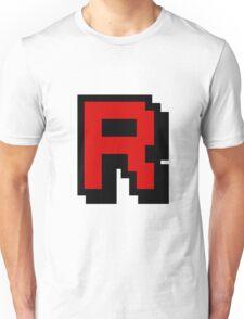 Team Pixellated R Unisex T-Shirt