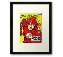 Post-Punk Comics | Whip It Framed Print