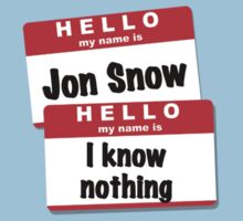 Jon Snows Nothing by DrRoger