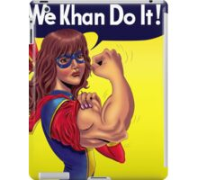 We Khan Do It iPad Case/Skin