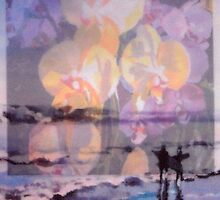 Pray For Surf Orchids by lynnGrayson