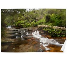 Wentworth Falls Cascade Poster