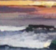 Wind-n-Sea Sunset by lynnGrayson