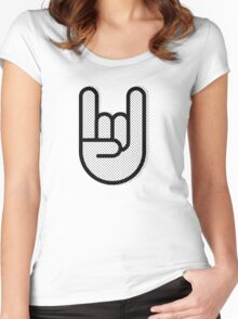 Rock and Roll Women's Fitted Scoop T-Shirt
