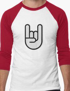 Rock and Roll Men's Baseball ¾ T-Shirt