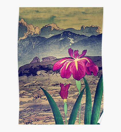Evening Hues at Jiksa Poster