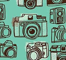 Camera / Cameras / Photography - Print / Repeat Pattern by nataleigh