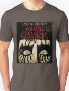 ALICE COOPER SPEND THE NIGHT TOUR Unisex T-Shirt