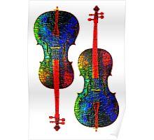 Cello Color Poster