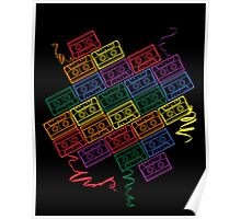 Retro Rainbow Poster