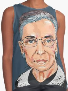 Supreme Court Justice Ruth Bader Ginsburg Contrast Tank