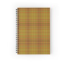 02615 Orange County, New York Fashion Tartan  Spiral Notebook