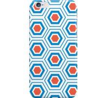 white rug pattern iPhone Case/Skin